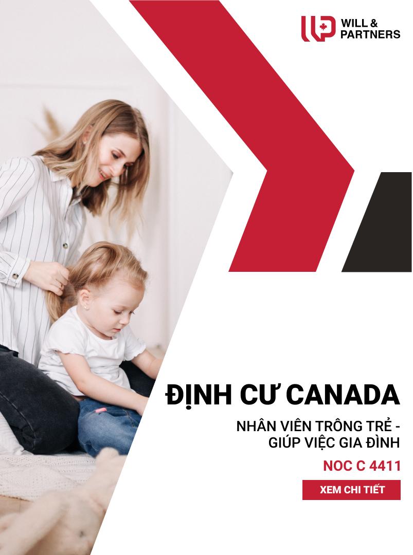 trông trẻ giúp việc gia đình canada